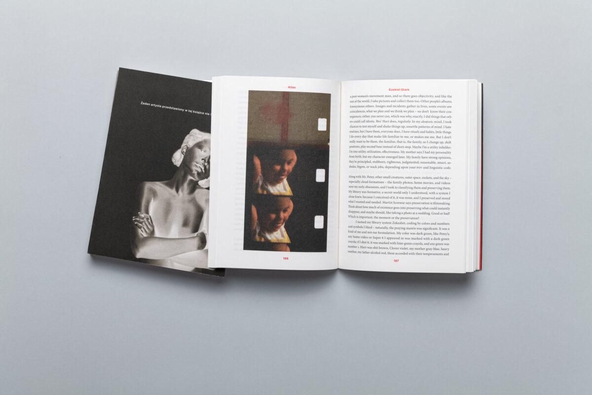 Rozkładówki książki Alias