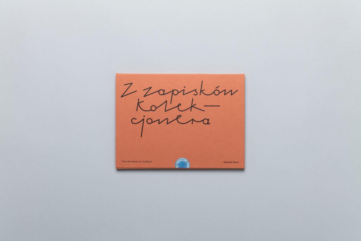 Okładka photobooka Agnieszki Rayss Z zapisków kolekcjonera