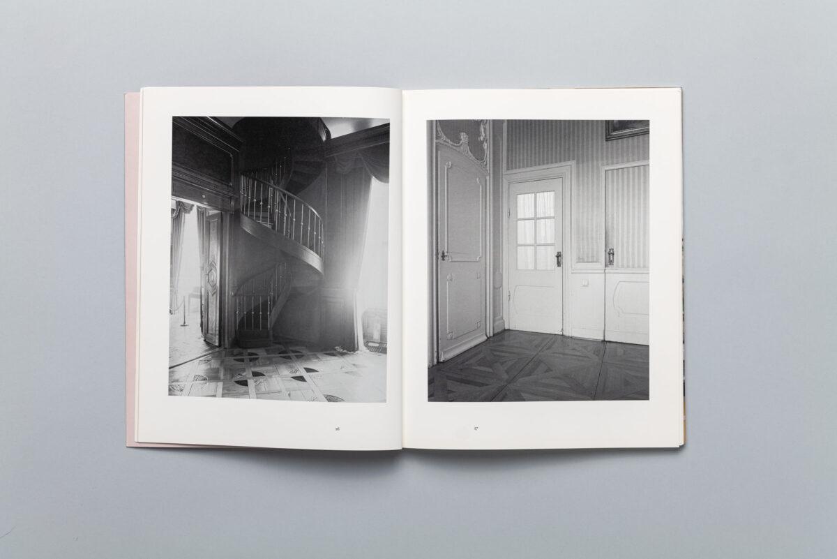 """Spread from """"The Case"""" photobook by Anna Orłowska"""
