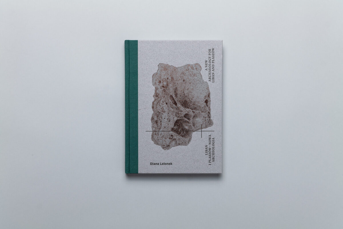 Okładka książki Diany Lelonek Liban i Płaszów –Nowa Archeologia