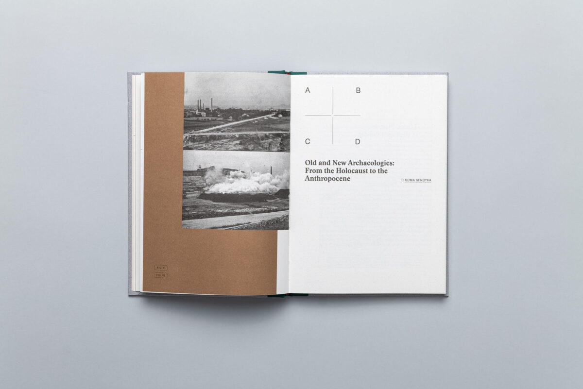Spread from A new archeology for Liban and Płaszów by Diana Lelonek