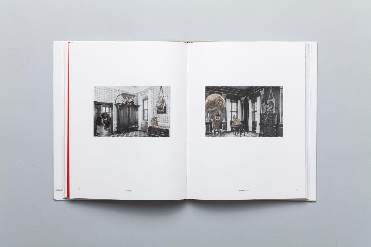 Spread from the album Collages by Jan Dziaczkowski