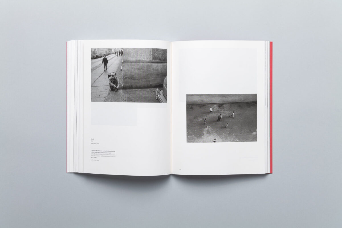 Spread from Inwards. Photographs from 1954-1967 by Marek Piasecki