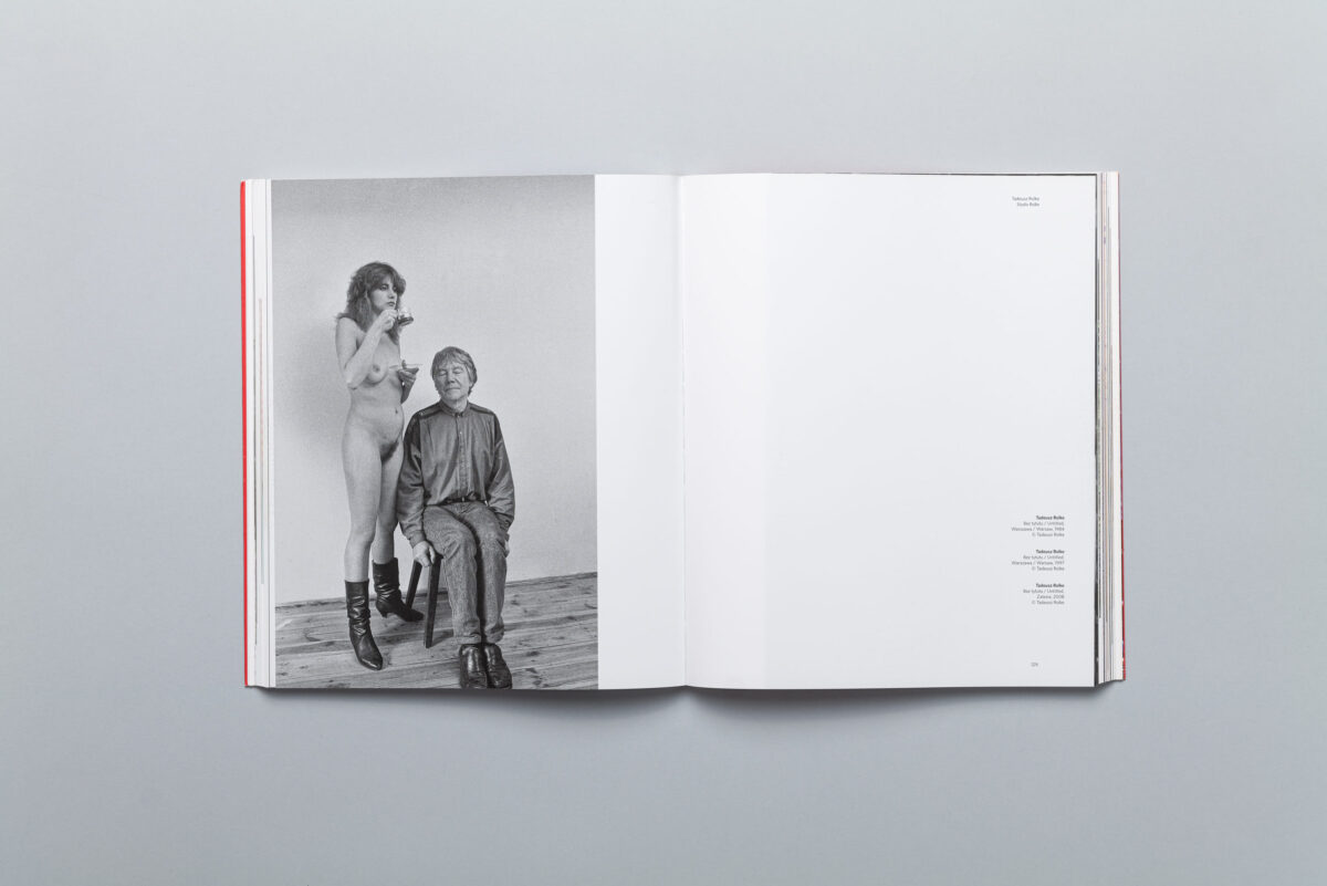 Spread from Krakow Photomonth 2013 catalogue