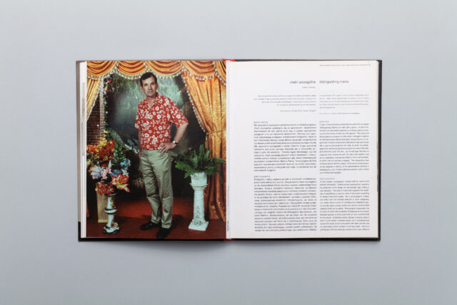Rozkładówka z katalogu Miesiąc Fotografii w Krakowie Maj 2007