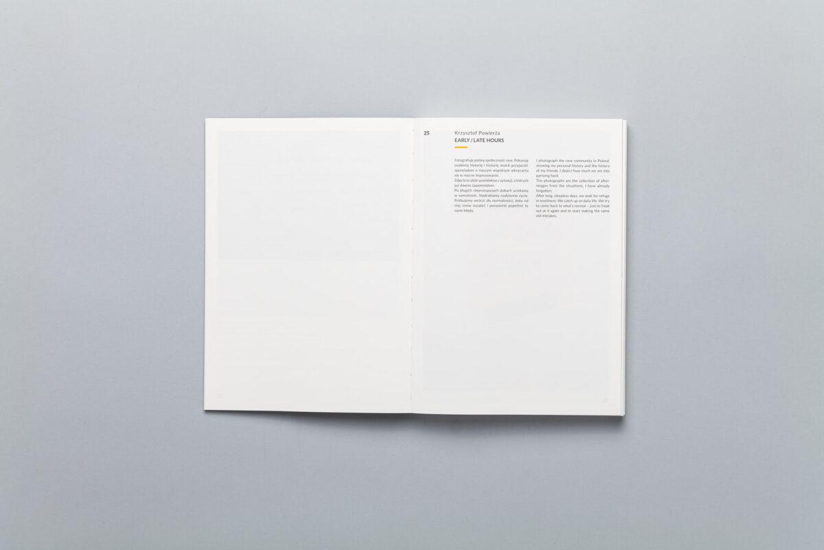 Rozkładówka z książki NO.8 Sputnik Photos Mentoring Programme