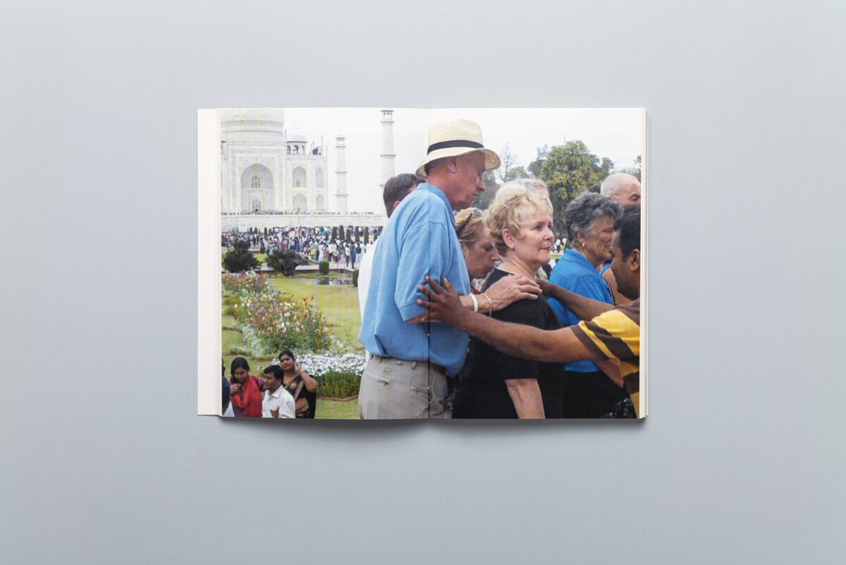 Spread from The (Un)becomings of Photography