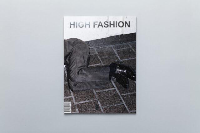 Okładka photobooka High Fashion Pawła Jaszczuka