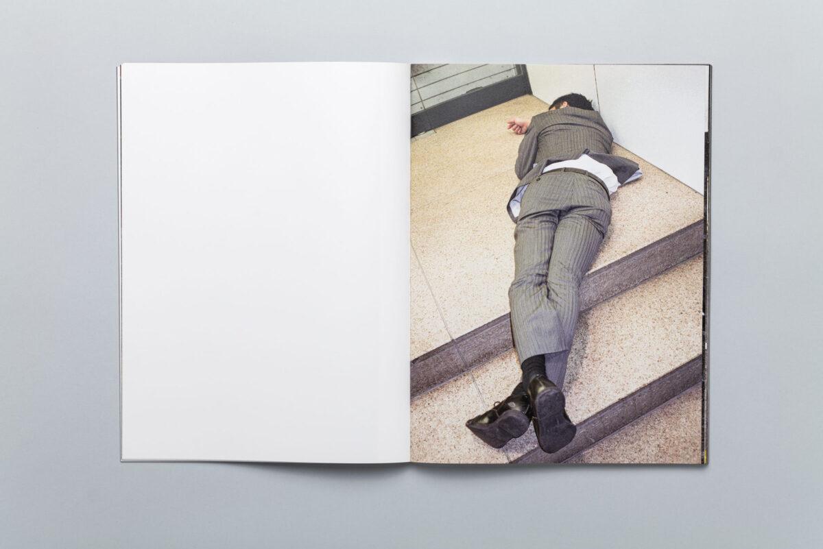 Rozkładówka z photobooka High Fashion Pawła Jaszczuka