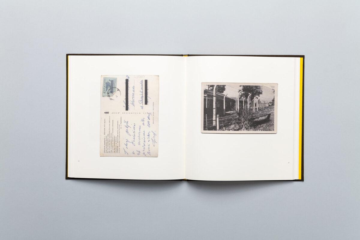 Rozkładówka książki Pawła Szypulskiego Pozdrowienia z Auschwitz