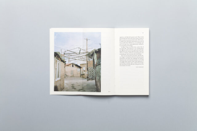 Spread from Lost Territories –Word Book